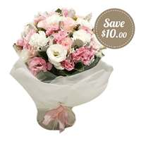 Delicate Posy of Flowers in soft pastels Flowers