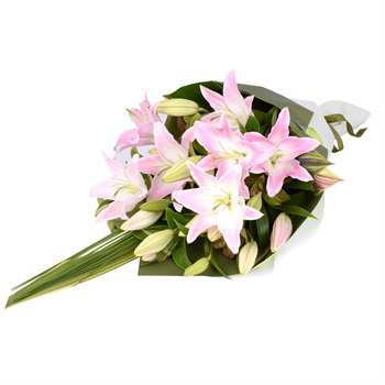 Lily Bouquet - Pink Flowers