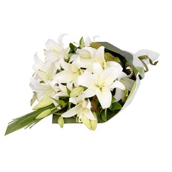 Lily Bouquet - White Flowers