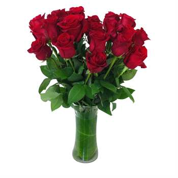 Rose Arrangement - Red Flowers