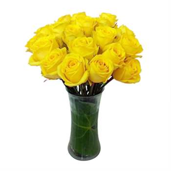 Rose Arrangement - Yellow Flowers